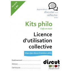Licence collective annuelle - Kits philo
